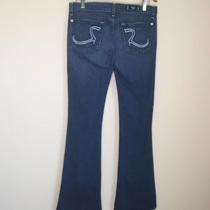 Rock & Republic Jeans - Rock and Republic Roth Mid Rise Flare Jeans Sz 30
